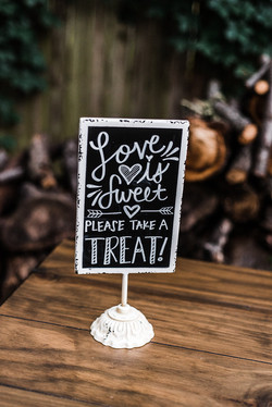 Sweet Treat Chalk Board