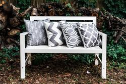 Grey & White Lounge Set