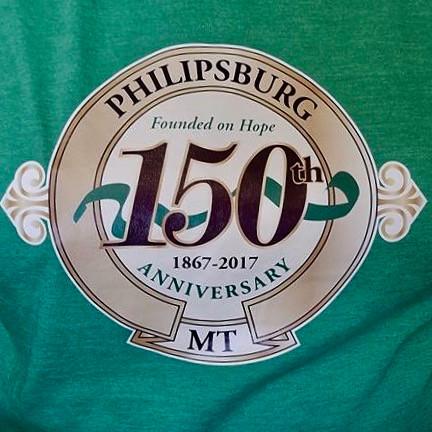 Philipsburg 150th T-Shirt Logo