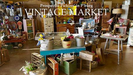 prospector pickins' vintage market pburg