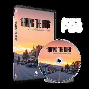 SAVING THE BURG DVD