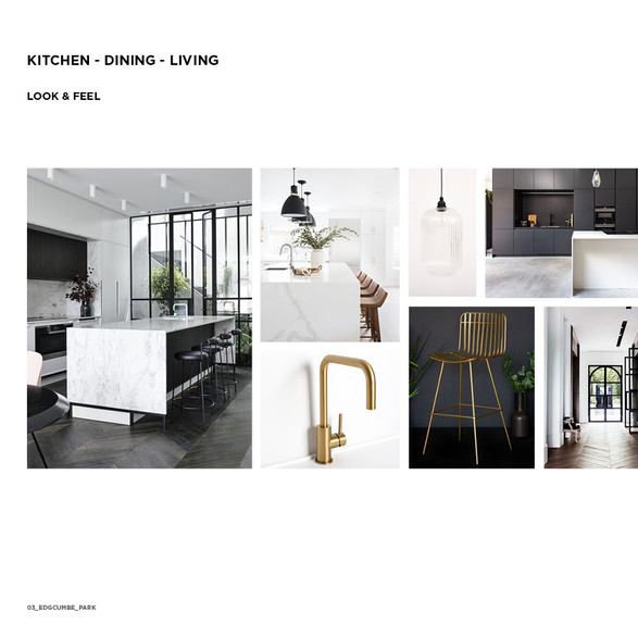 Monochrome Kitchen Look & Feel