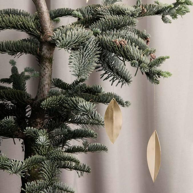 Brass Tree Ornaments