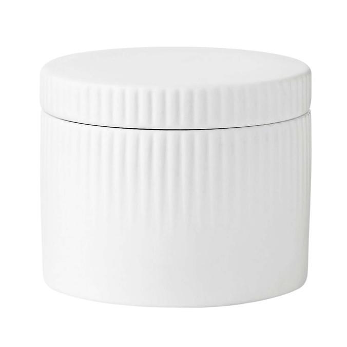 Pleat Salt Jar