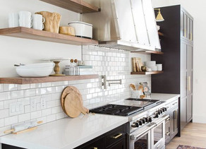 How To Style Your Open Kitchen Shelving Like A Designer