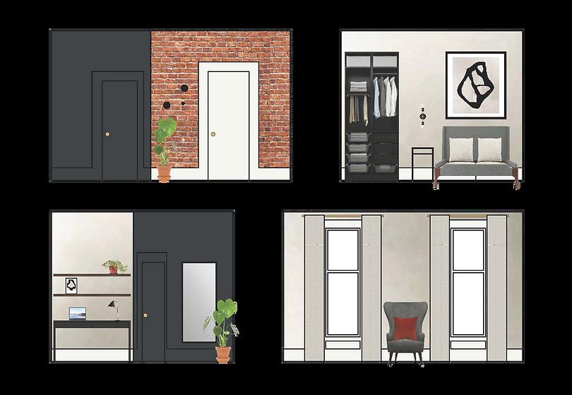 Interior elevation bedroom design.png