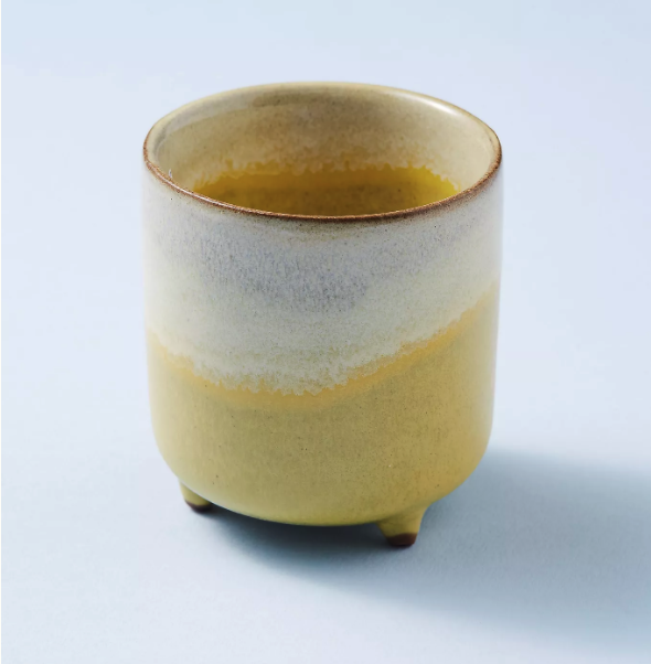 Yellow Footed Pot