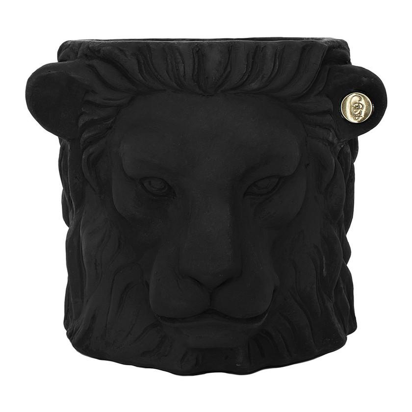 Terracotta Lion Plant Pot