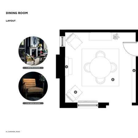 Dining Room Furniture Layout