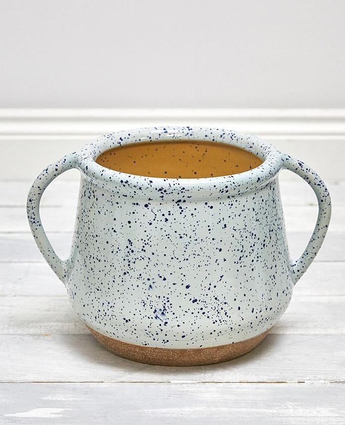 Speckled Ceramic Planter
