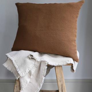 Rust Throw Cushion