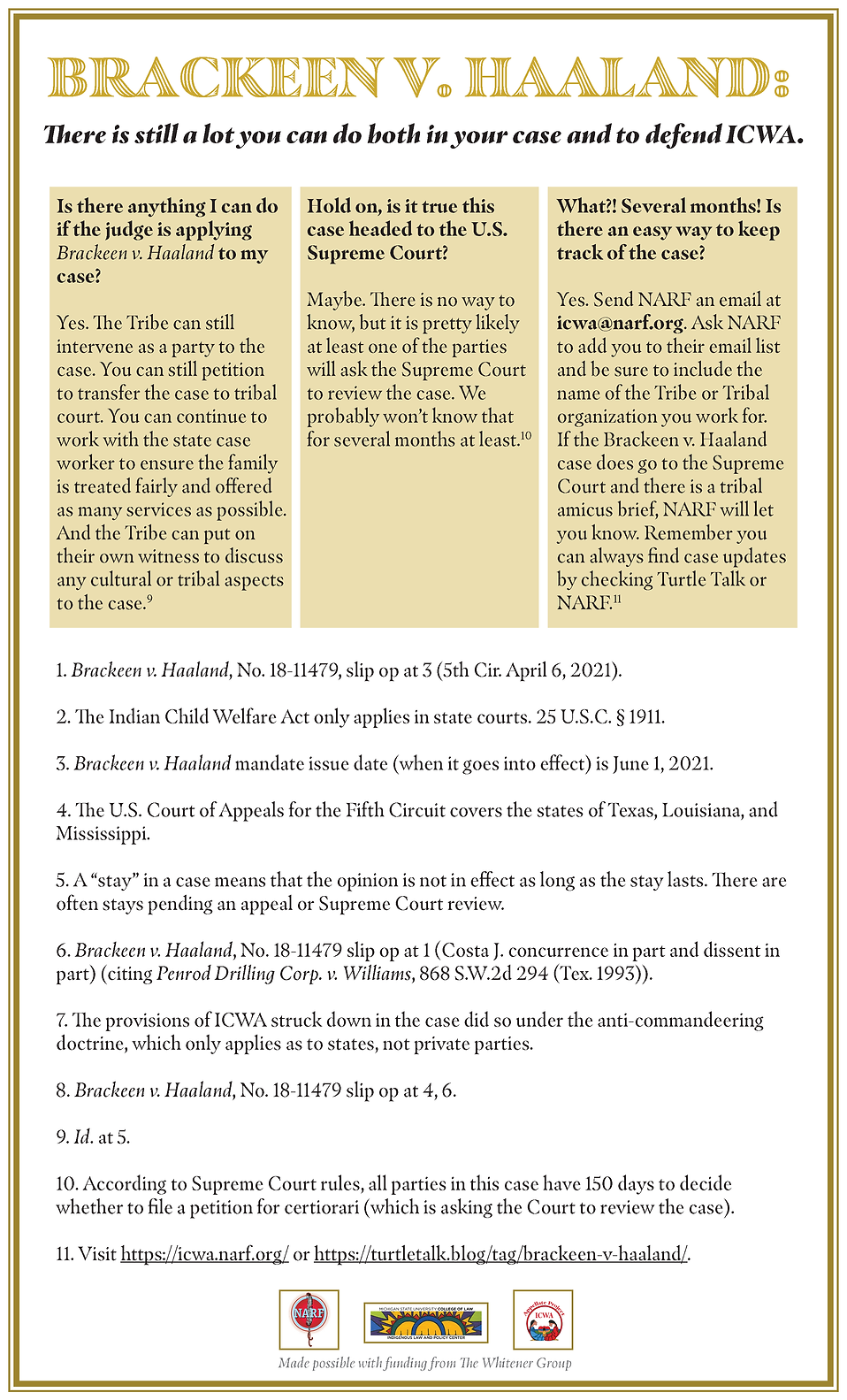 2_Brackeen V Haaland Decision Tree_April