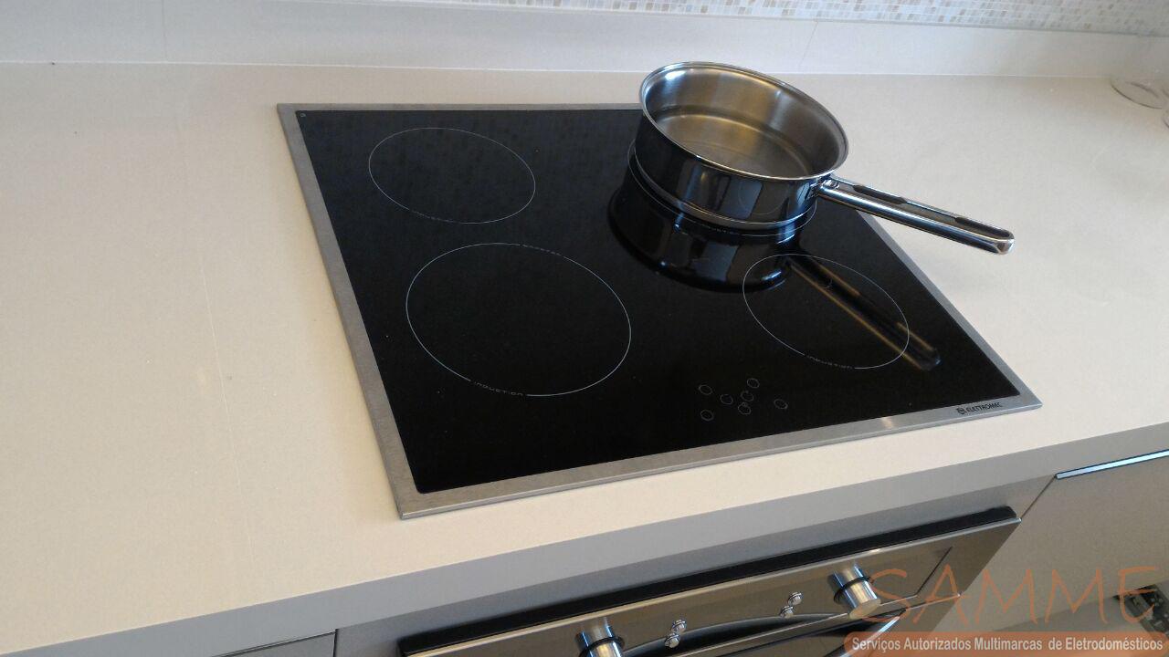 Instalação cooktop por indução