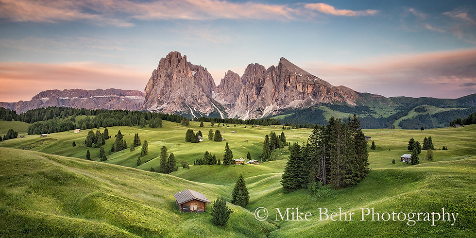 Alpine Meadows of Italy