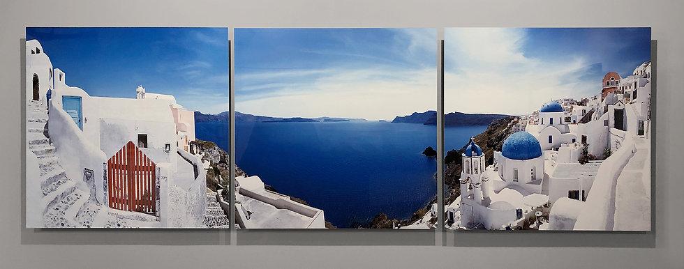 Views of Santorini show sample piece
