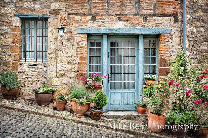 Blue Door of Cordes