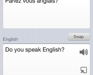 Parlez Vouz Anglais?