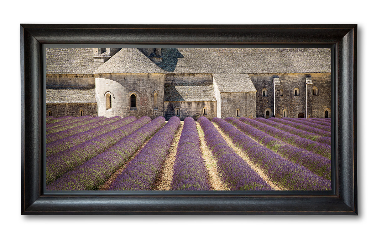 Abbey-Senanque_Black-Frame