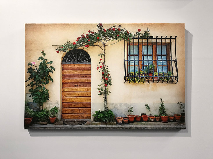 Tuscan Entry show sample piece