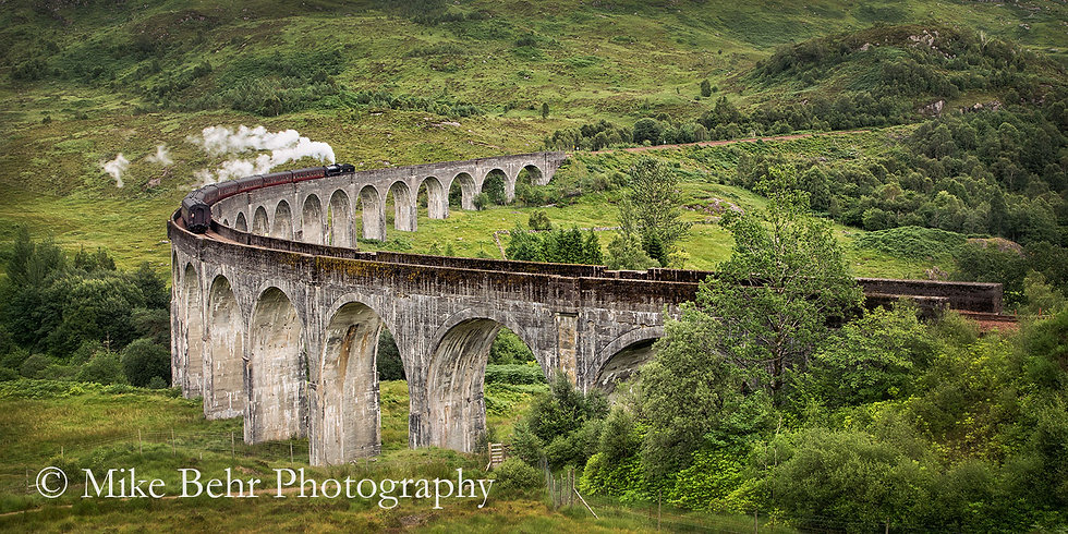 Rolling Through Glenfinnan