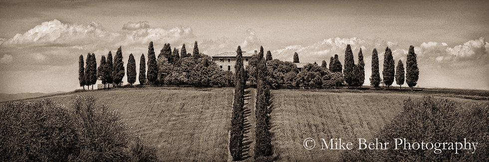 Villa in Val d'Orcia, Italy