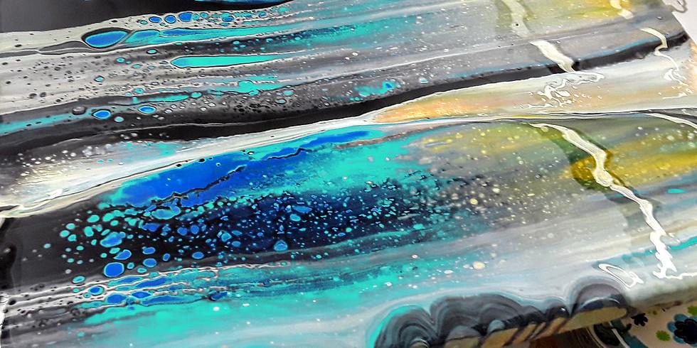 Acrylic Fluid Painting  (CLOSED!)