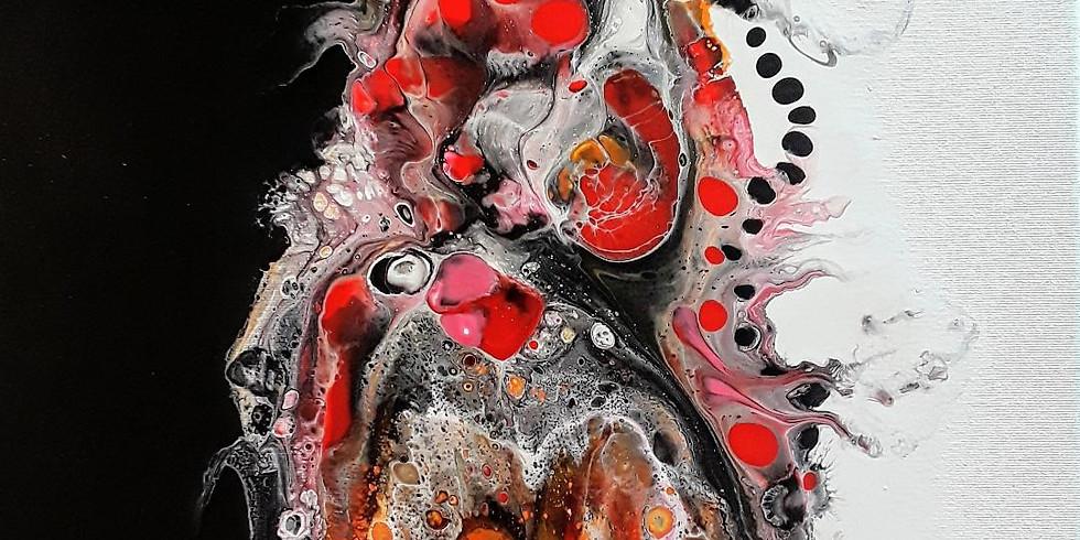 Acrylic Flow Art Alchemy