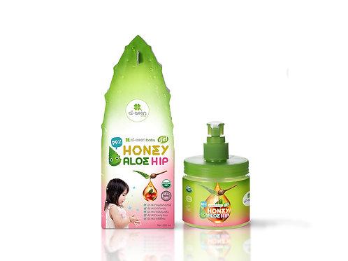 เจลว่านหางลดรอยดำ ( Baby Honey Aloe Gel )