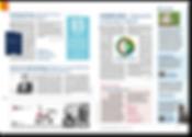DZSM Dossier Innenteil Editorial Design