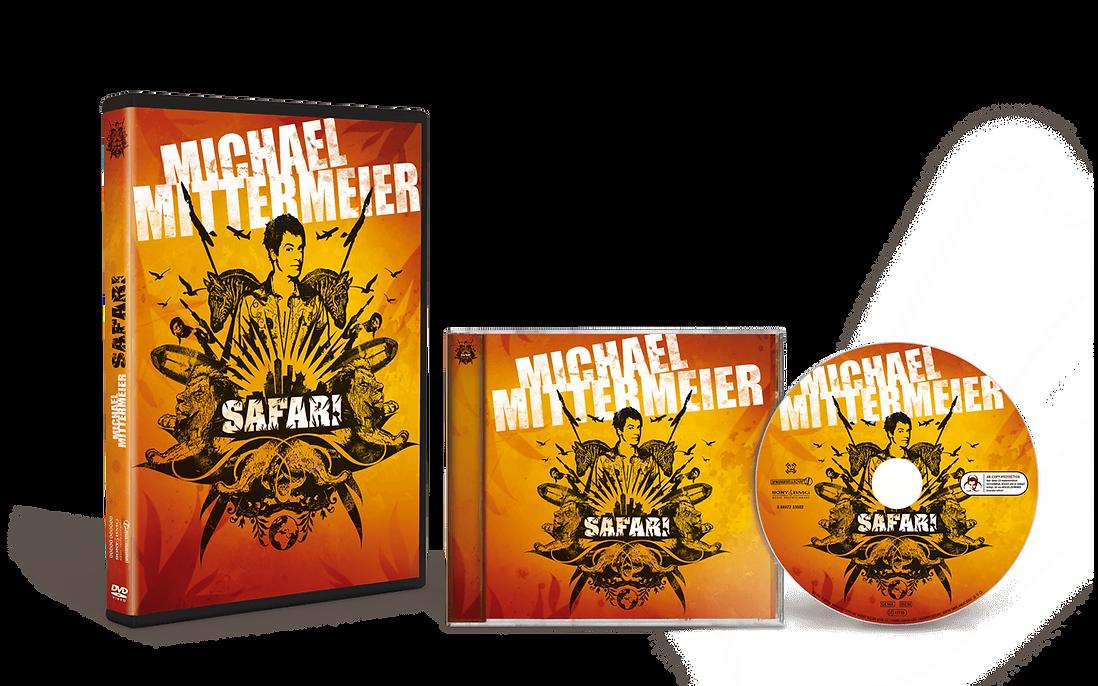 SAFARI Michael Mittermeier DVD CD Cover Design