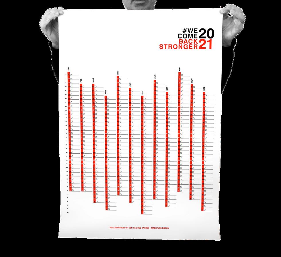 #WCBS 2021 Kalenderposter