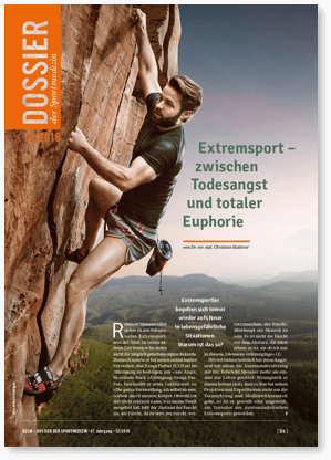 DZSM Aufmacher Titel Extremsport Editorial Design