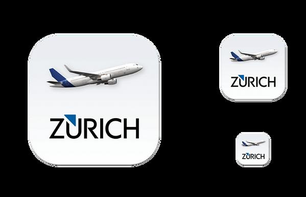 Flughafen Zürich App Icons