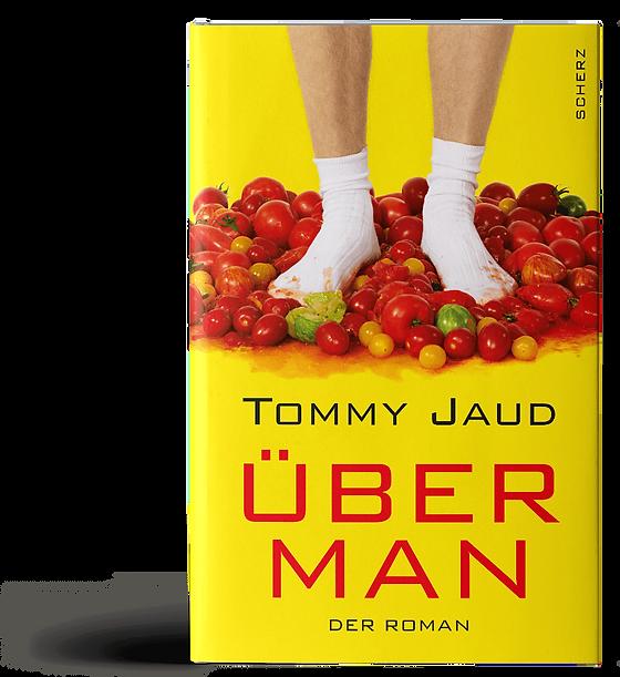 Übermann von Tommy Jaud Buchcover Design