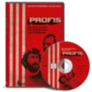 Profis – Die Kult-Fußball-Doku aus den 70ern DVD Cover Design