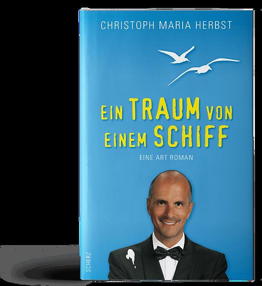 Ein Traum von einem Schiff von Christoph Maria Herbst Buchcover Design