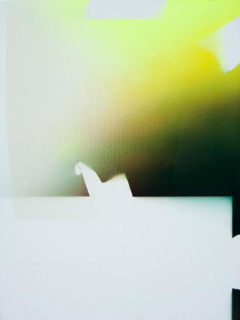 Perpetual Encore (The Interpretation of Studio Remains) no. 17 40 x 30 cm Acrylic on wood