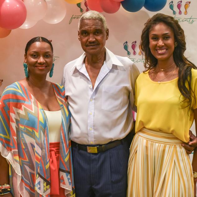 Yasmine Mechelle & family