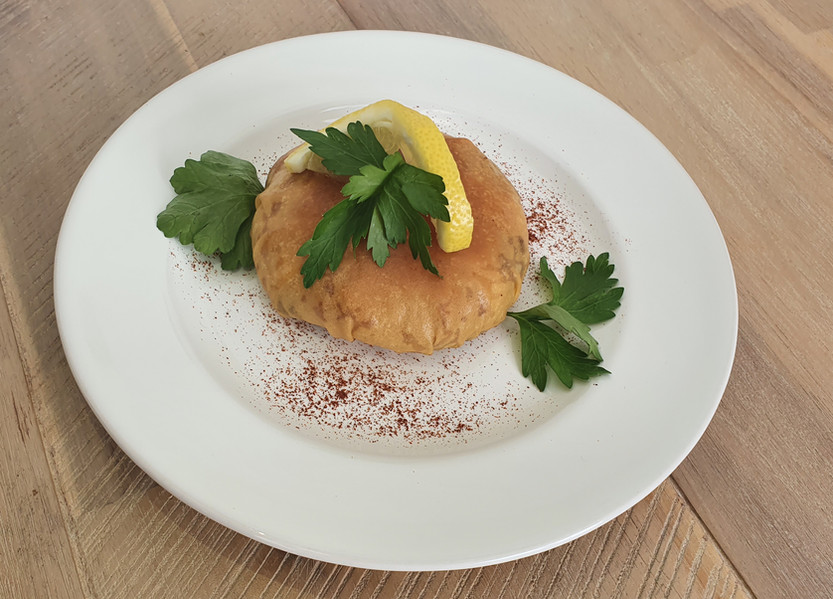 Seafood Pastilla