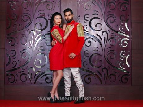 Gals Evening Wear & Attitude by Prasantt Ghosh