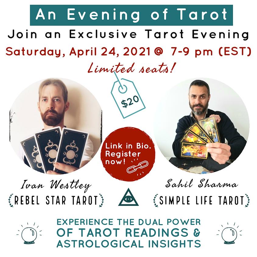 An Evening of Tarot with Ivan and Sahil