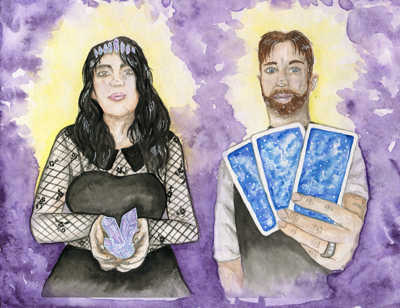 The Hermit and The High Priestess