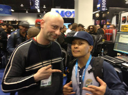 Me with DJ Q Bert