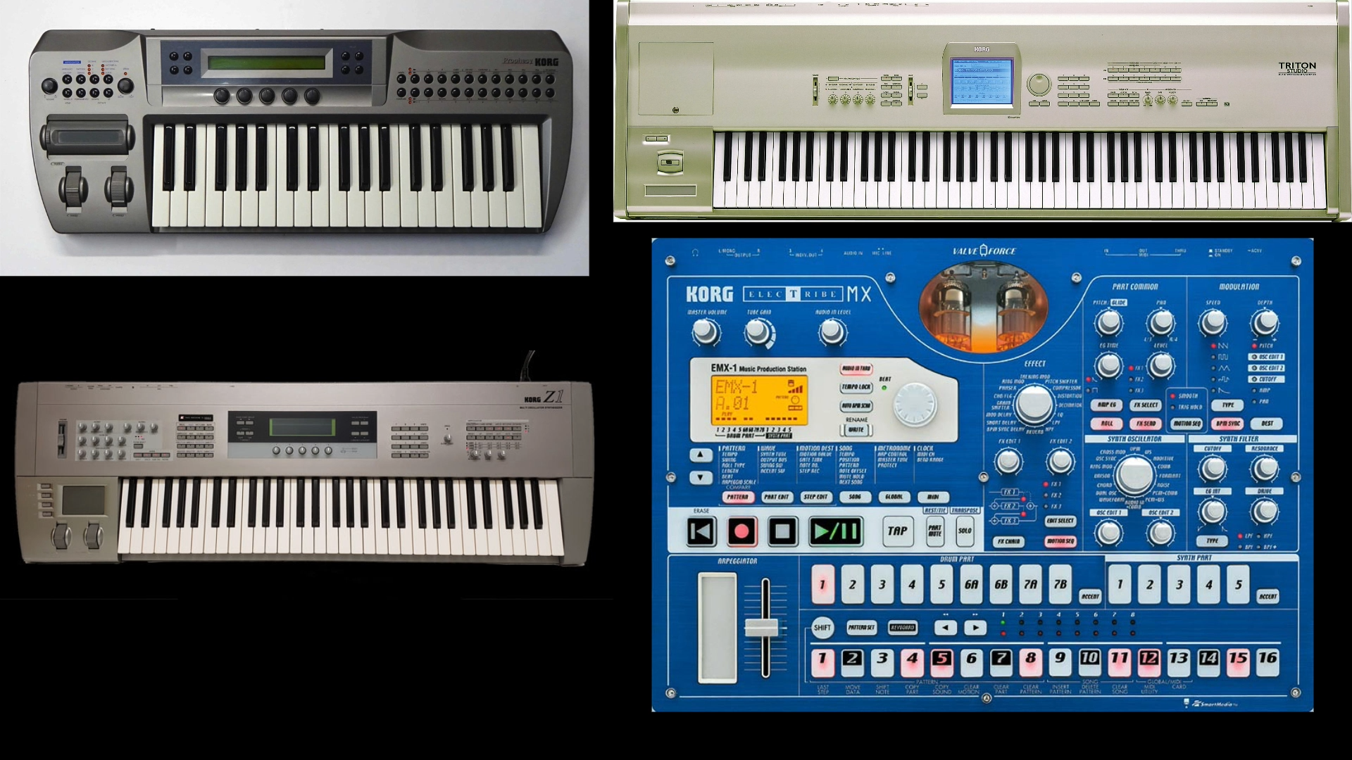 Korg sound programming projects