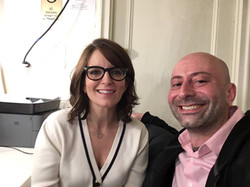 Me with Tina Fey