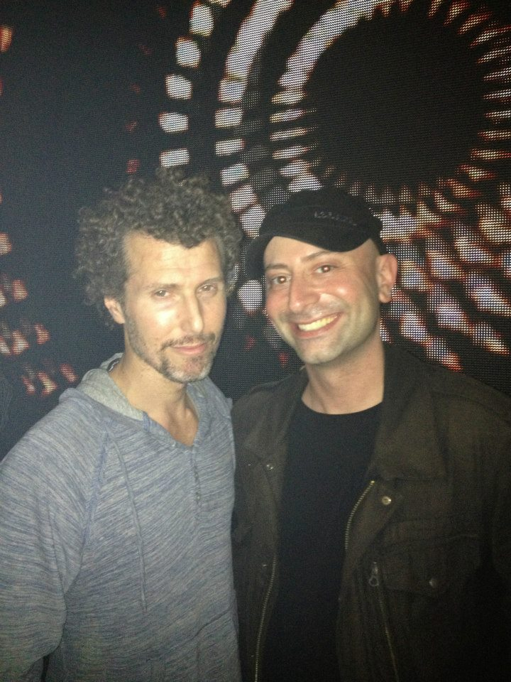 Me with Josh Wink