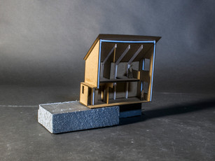Durieshill Masterplan - Contour Dwelling Sectional Model