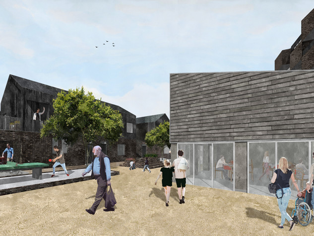 Reforming Multi-Storey Living - Community Living Room
