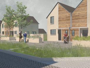Durieshill Masterplan - Contour Dwelling Streetscape