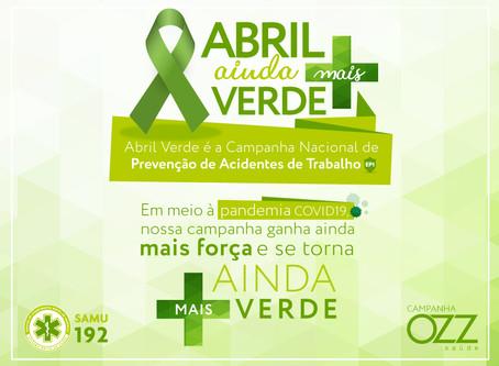 Campanha - Abril ainda mais verde